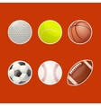 Collections of balls for play vector image