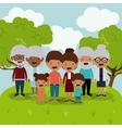 best family design vector image