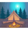Camping or Hiking outdoor recreation adventures
