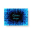 celebratory background with neon lights vector image vector image