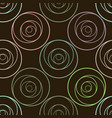 circle abstract pattern for design vector image vector image
