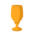 isolated chalice icon vector image