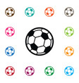 isolated game icon soccer element can be vector image vector image