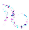 magic sparkles decorative print vector image