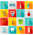 medical tools colorful icons vector image vector image