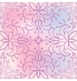 Seamless floral pattern neutral background vector image vector image