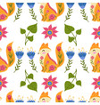 seamless pattern colorful vector image