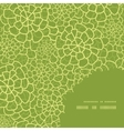 abstract green natural texture frame corner vector image vector image