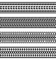 car wheel tracks vector image vector image
