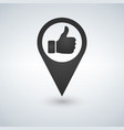 map icon like icon sign vector image