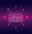 music and technology concept vector image vector image
