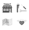 tourism restaurant business and other web icon vector image vector image