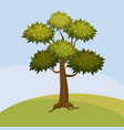 Tree cartoon style isolated for games and