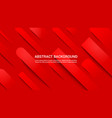 abstract red web background vector image