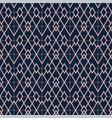 art deco semless pattern vintage decorative rose vector image