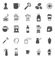 Barista icon on white background vector image vector image