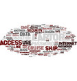 laptop on cruise text background word cloud vector image vector image