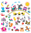 simple children pictures vector image vector image