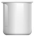 white beaker on