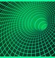 digital visualisation wormhole singularity and vector image vector image