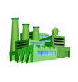 Green factory vector | Price: 1 Credit (USD $1)