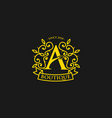 initial letter a fashion and boutique logo vector image vector image