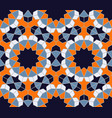 islamic colorful geometric seamless pattern vector image vector image