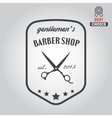 Logo icon or logotype for barbershop vector image