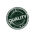 quality stamp texture rubber cliche imprint web vector image vector image