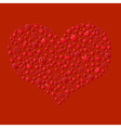 Red Valentines Day Card vector image vector image