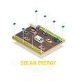 solar energy concept vector image vector image