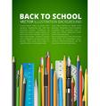 Mass pencils vector image