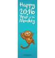 New Year vertical banners with cute cartoon vector image