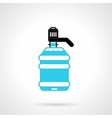 Water cooler bottle flat icon vector image vector image