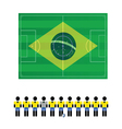 world cup sign color vector image vector image
