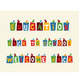 Education colorful pushpin post notes composition vector image