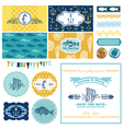Nautical Sea Theme Set - for Party Decoration