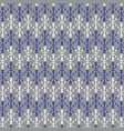 blue gray white anchor pattern vector image vector image