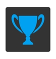 Cup icon from Award Buttons OverColor Set vector image vector image