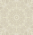 Paisley cream background vector image vector image