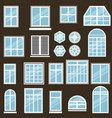 set window icons vector image