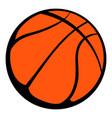 basketball ball icon icon cartoon vector image