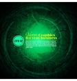 Background abstract green texture vector image