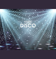 disco abstract background disco ball texture vector image