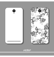 Floral Pattern For Phone vector image