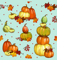 funny seamless background with texture of ripe vector image vector image