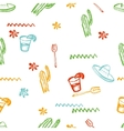 seamless mexican pattern Mexican tequila vector image vector image