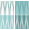 tile chevron pattern set with sailor zig zag vector image vector image