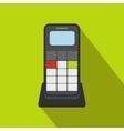 Wireless phone flat icon vector image vector image
