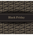 Black Friday Bakcground vector image